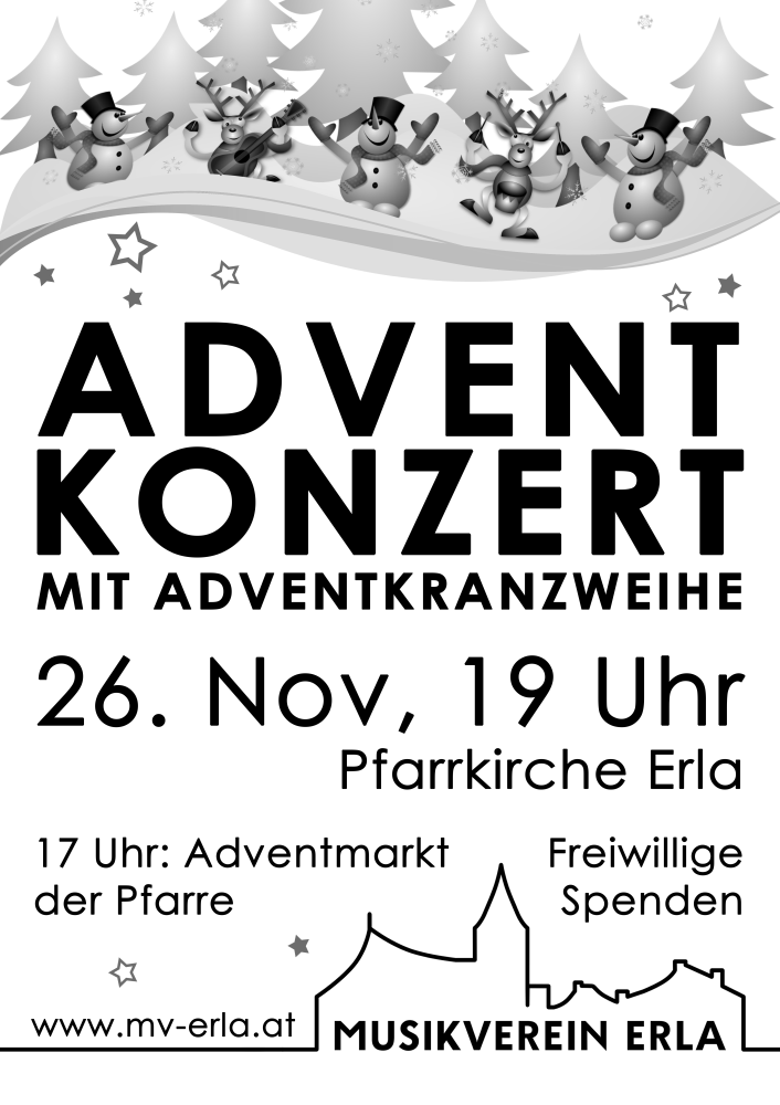 Adventmusik in Erla - Kirchenkonzert